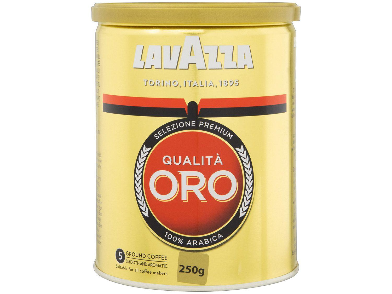 Café Moído Lavazza Qualitá Oro Arábica Lata 250g