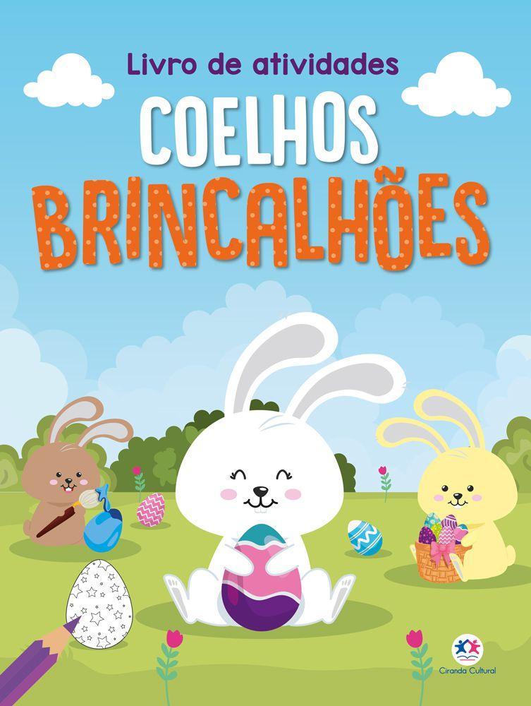 Livro - Coelhos brincalhões