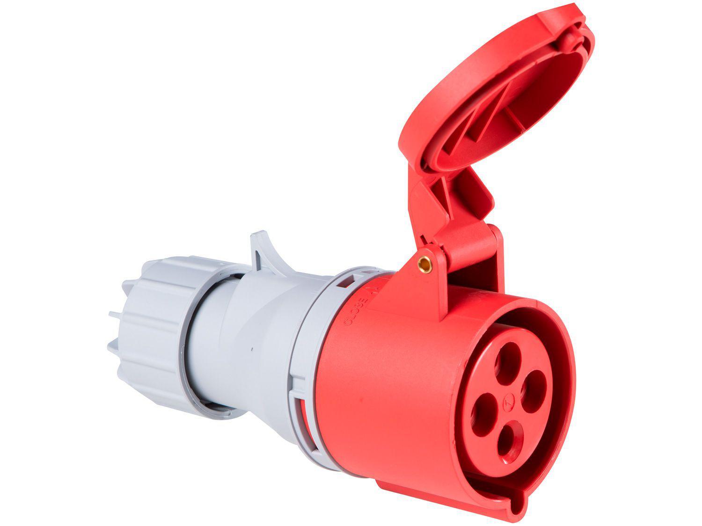 Tomada Industrial de Acoplamento 3P + T 32A - 380V Tramontina Eletrik