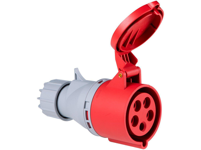Tomada Industrial de Acoplamento 3P + N + T 32A - 380V Tramontina Eletrik