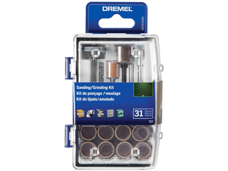 Kit de Corte para Micro Retífica Dremel 727 - 31 Peças
