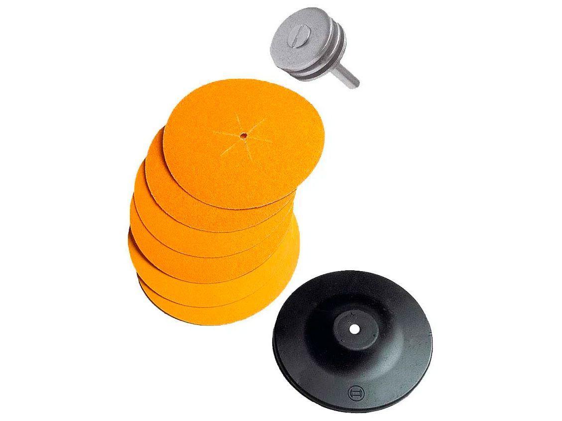 Disco de Lixa 130mm para Madeira Bosch - 9618089260-000 8 Peças
