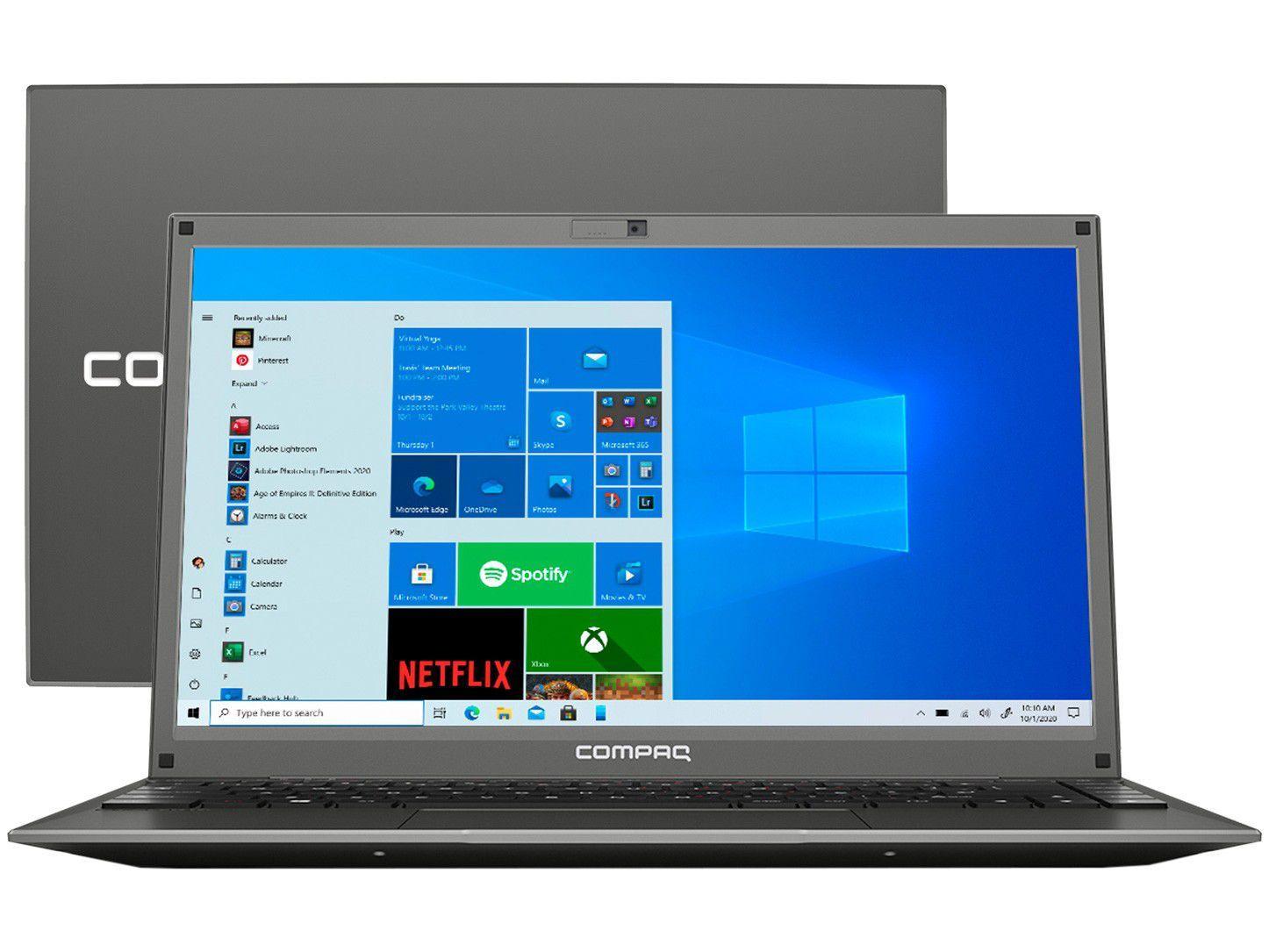 "Notebook Compaq Presario 450 Intel Core i5 8GB - 240GB SSD 14,1"" LED Windows 10"
