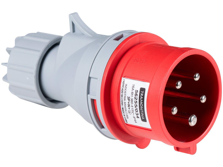 Plug Móvel Industrial 3P+N+T 16A 380-415V 6h - Tramontina Eletrik