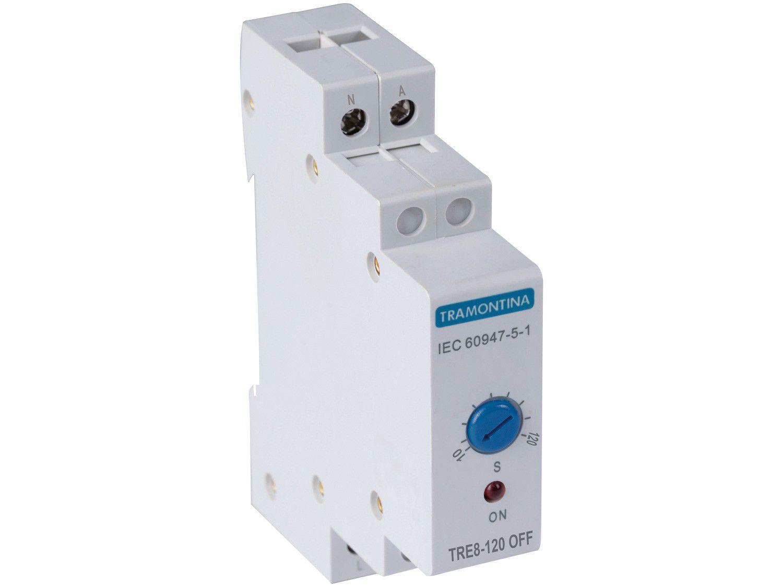 Relé Temporizador Tramontina Eletrik TRE8 230V