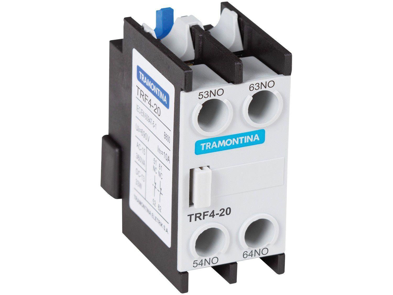Contato Auxiliar Frontal para Contator Tramontina - TRF4-20