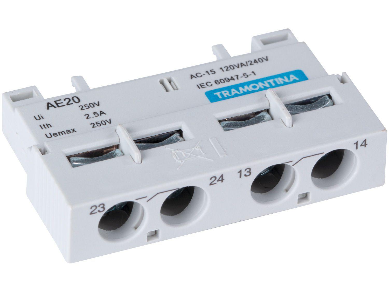 Contator Frontal Tramontina TRS2 AE para Disjuntor - Motor TRS2