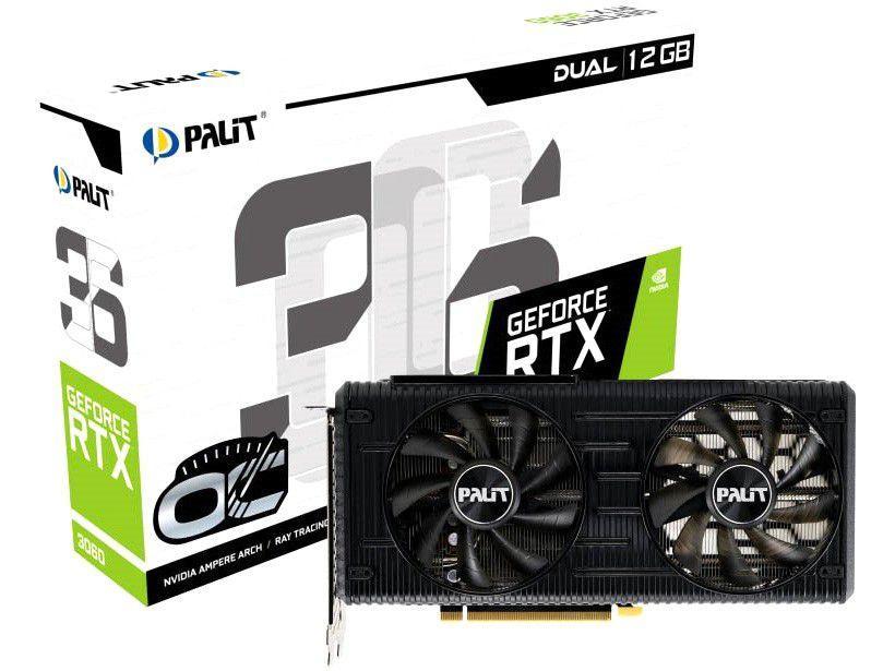 Placa de Vídeo Palit GeForce RTX 3070 - 8GB GDDR6 256 bits GamingPro