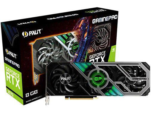 Placa de Vídeo Palit GeForce RTX 3060 - 12GB GDDR6 192 bits Dual OC
