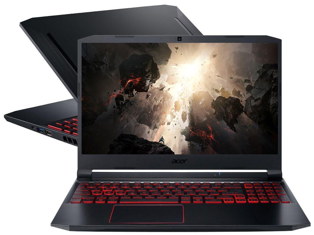 "Notebook Gamer Acer Aspire Nitro 5 AN515-43-R4C3 - AMD Ryzen 7 8GB 512GB SSD 15,6"" NVIDIA GTX 1650TI"