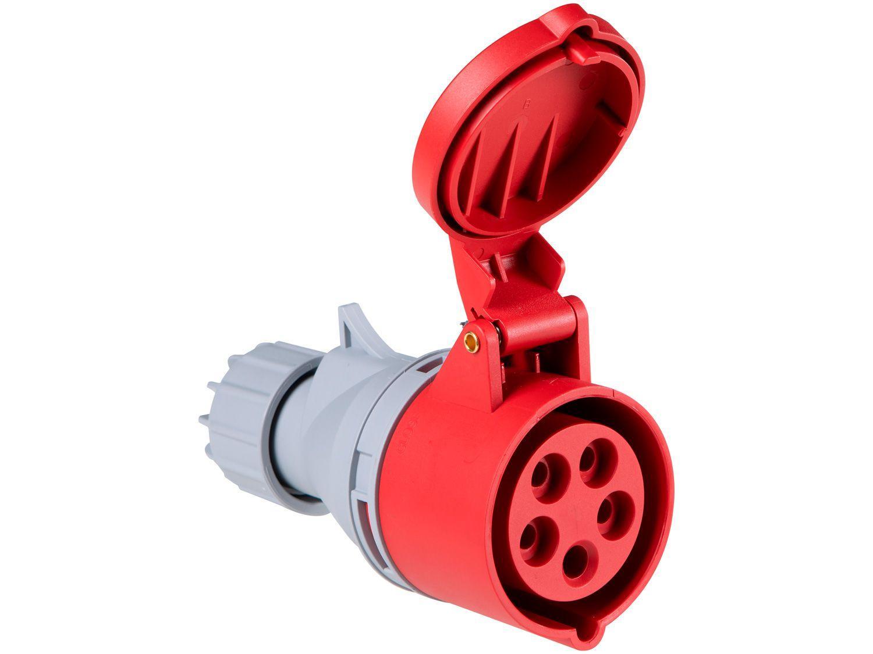 Tomada Industrial de Acoplamento 3P+N+T 16A - 380V Tramontina Eletrik