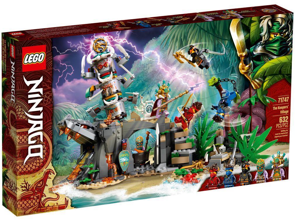 LEGO Ninjago Aldeia dos Guardiões 632 Peças - 71747