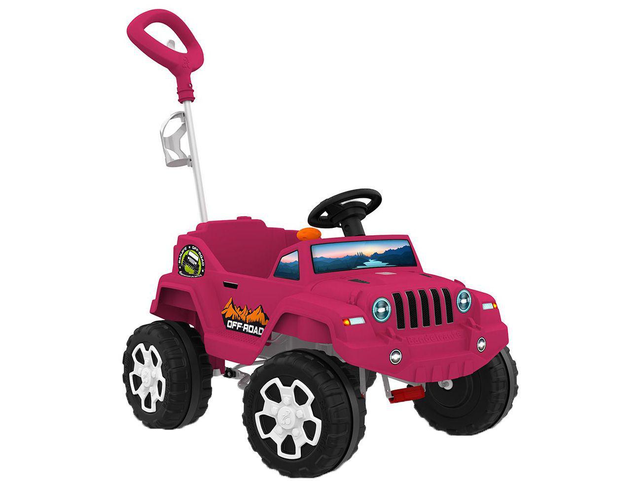 Mini Jeep a Pedal Infantil Banjipe Bandeirante