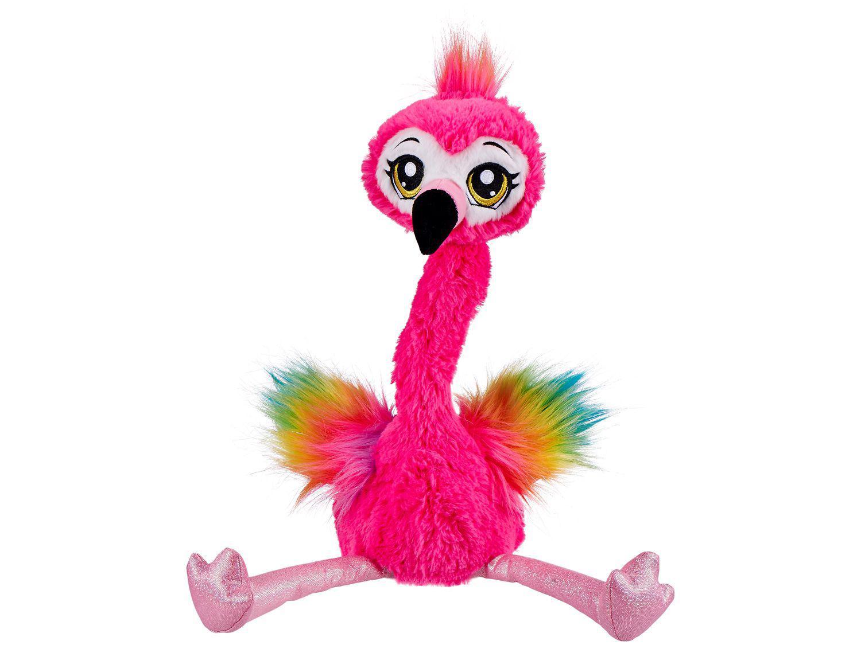 Pelúcia Frankie the Funky Flamingo Emite Som - Candide