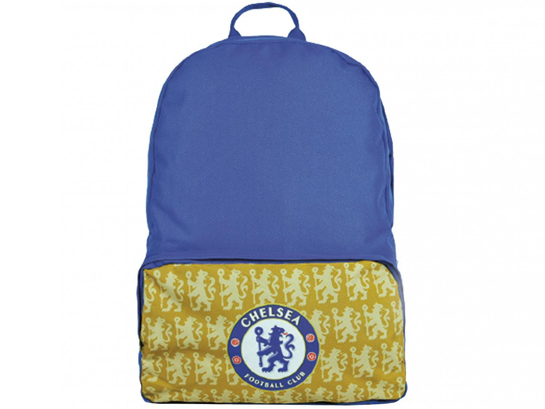 Mochila Casual Maccabi Art 22L Chelsea - Time de Futebol Azul e Amarelo