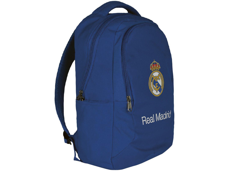 Mochila Casual Maccabi Art 21L Real Madrid - Time de Futebol Azul