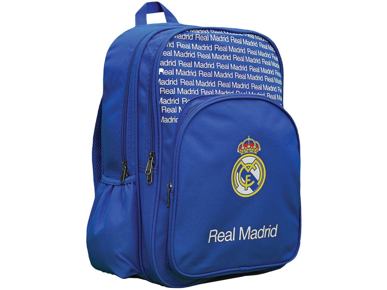Mochila Escolar Maccabi Art 23L Real Madrid - Time de Futebol Azul