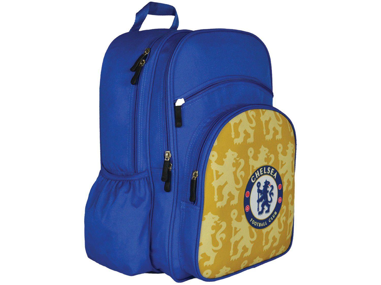 Mochila Escolar Maccabi Art 23L Chelsea - Time de Futebol Azul