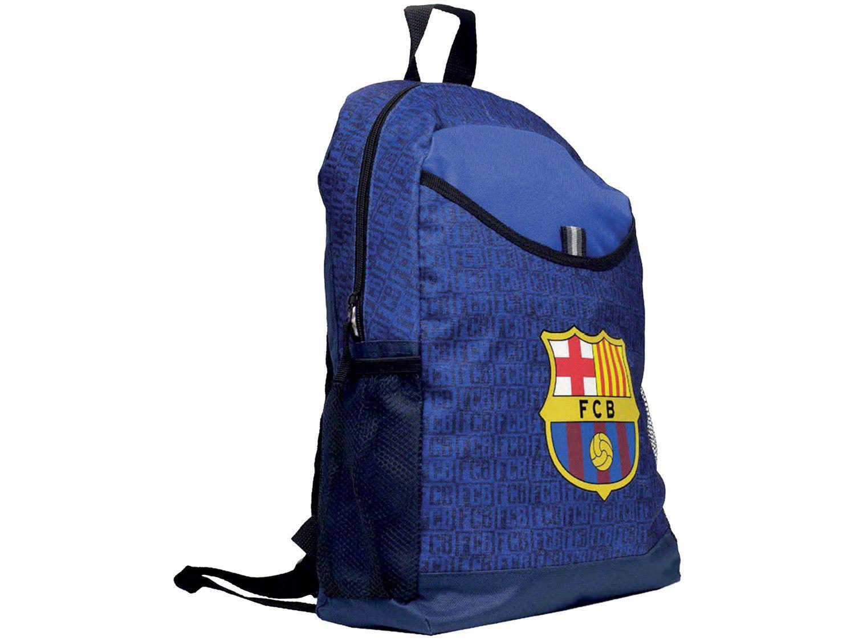 Mochila Escolar Maccabi Art 14L Barcelona - Time de Futebol Azul