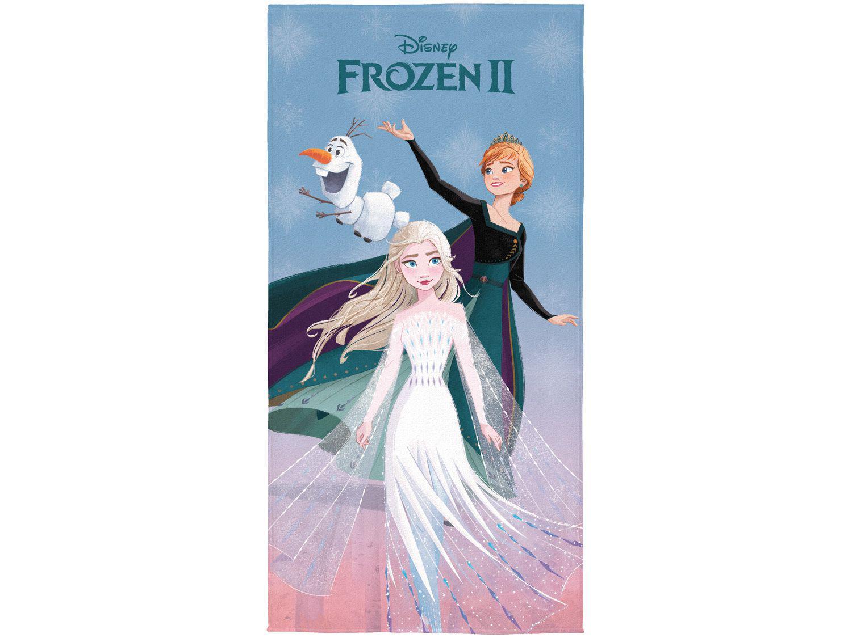 Toalha de Banho Infantil Lepper Algodão - Aveludada Frozen