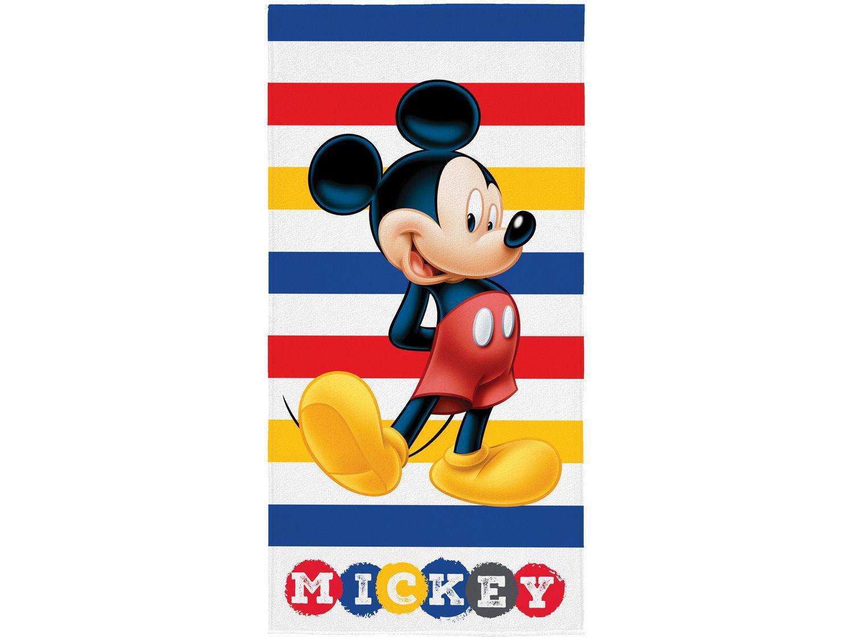 Toalha de Banho Infantil Lepper Algodão - Aveludada Mickey