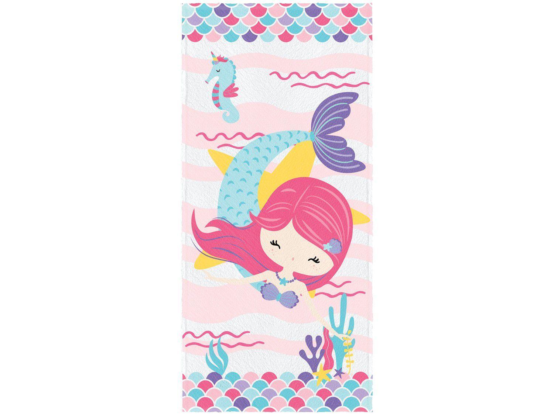 Toalha de Banho Infantil Lepper Algodão - Oceano Colorido