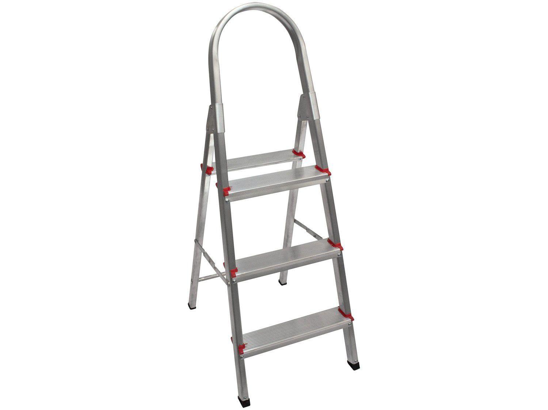 Escada de Alumínio Cavalete 3 Degraus - Doméstica Art Factory New Star ENS 03