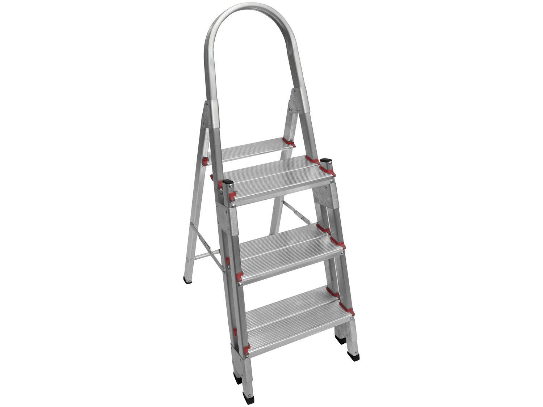 Escada de Alumínio Cavalete 3 Degraus - Doméstica Art Factory EDD 03