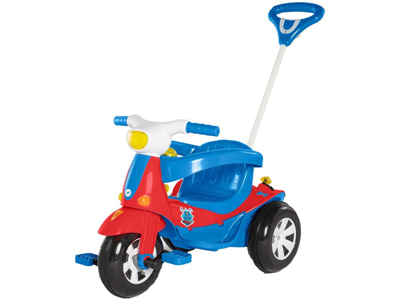 Carrinho de Passeio Infantil Velotri com Pedal - com Empurrador Calesita