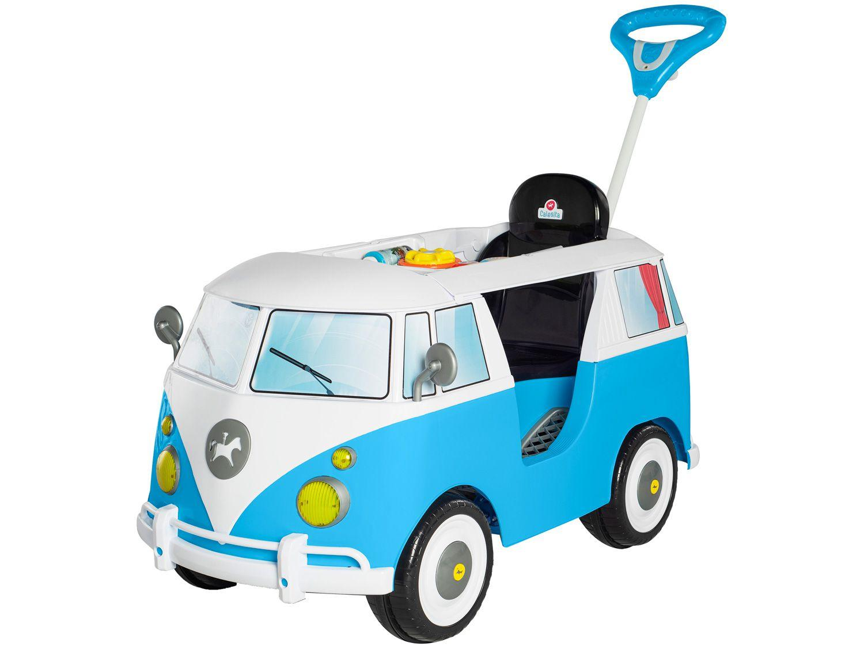 Carrinho de Passeio Infantil Kombina com Pedal - com Empurrador Calesita