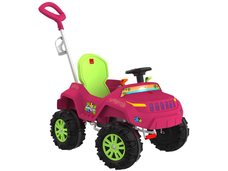 Carrinho de Passeio Infantil Superjipe - com Pedal e Empurrador Bandeirante
