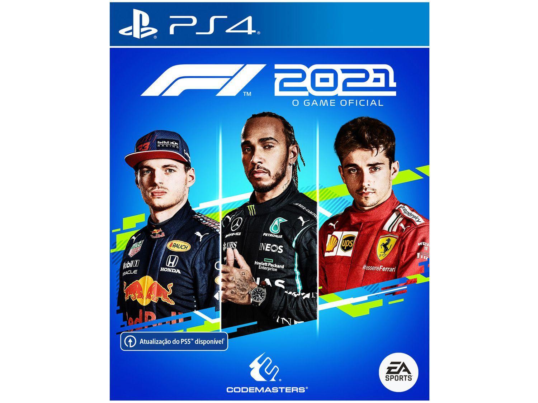 Jogo F1 2021 para PS4 Codemasters