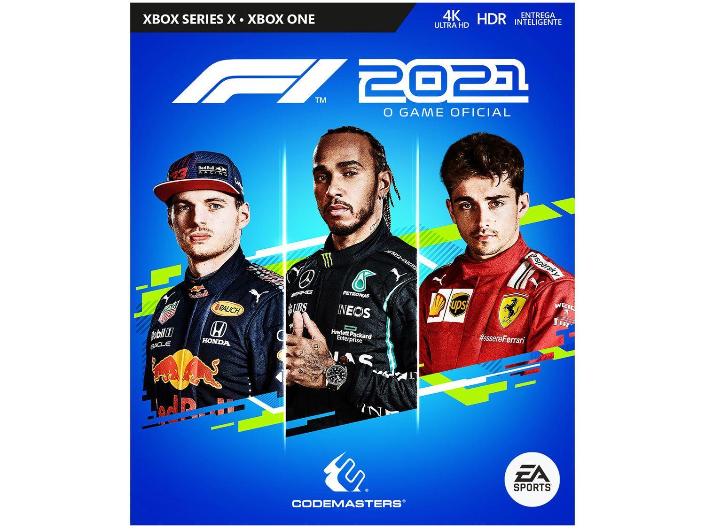 Jogo F1 2021 para Xbox One e Xbox Series X - Codemasters