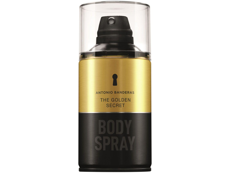 Body Spray Antonio Banderas The Golden Secret - Masculino 250ml