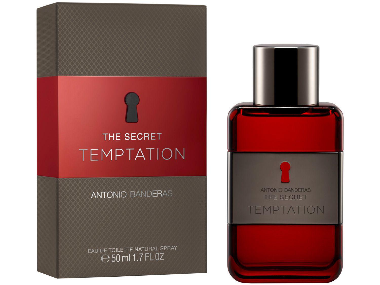 Perfume Antonio Banderas The Secret Temptation - Masculino Eau de Toilette 50ml