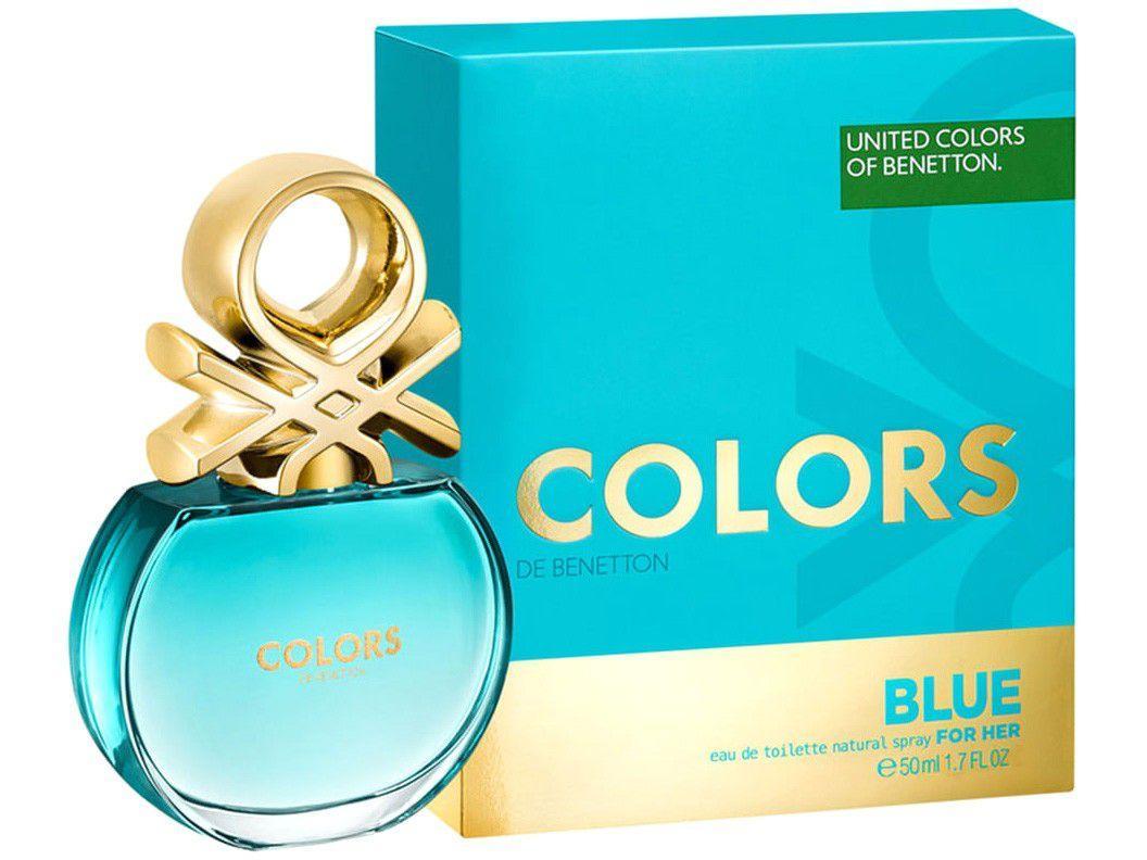 Perfume Benetton Colors Blue Feminino - Eau de Toilette 80ml