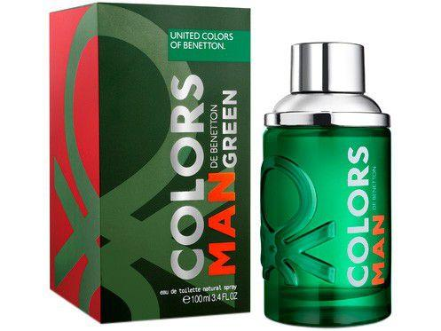 Perfume Benetton Colors Man Green Masculino - Eau de Toilette 60ml