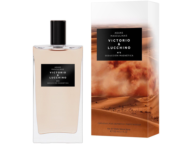 Perfume Victorio & Lucchino Sedução Magnética N°3 - Masculino Eau de Toilette 150ml