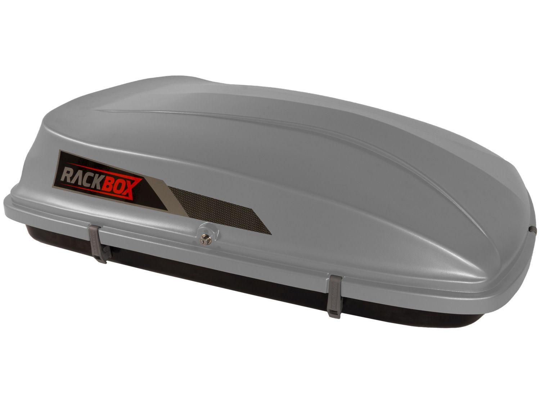 Bagageiro para Carro Maleiro de Teto 360L - Rackbox Universal com Chave 360-C