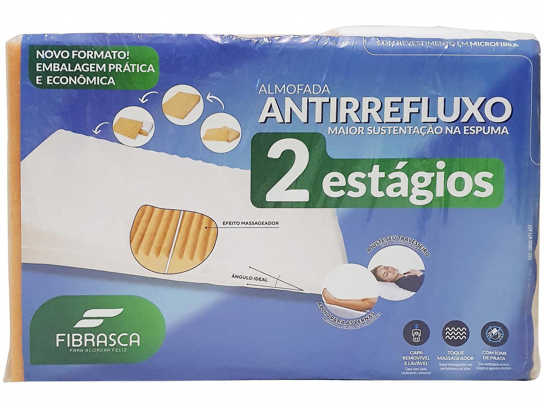 Travesseiro Fibrasca Antirrefluxo - Saúde e Bem-estar 2 Estágios