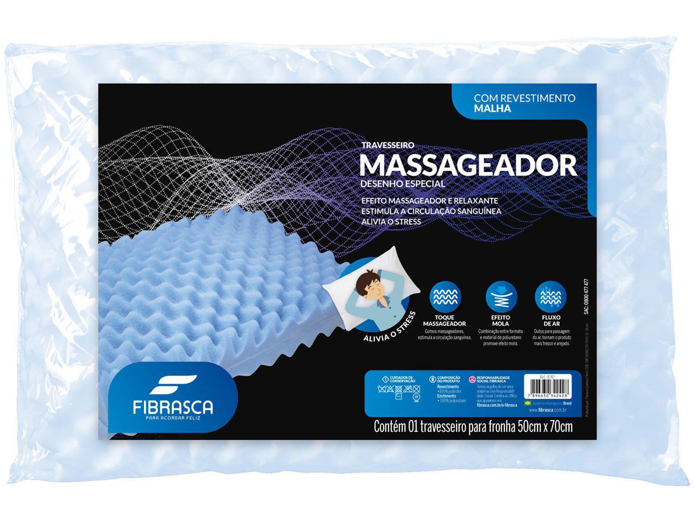 Travesseiro Fibrasca de Cabeça Múltiplo Conforto - Massageador