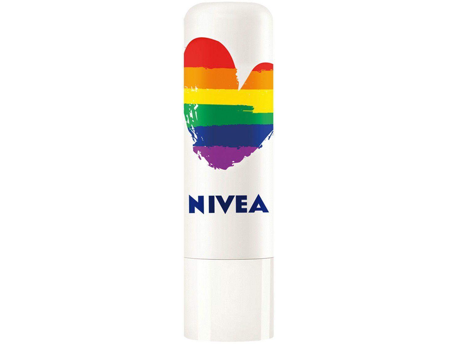 Hidratante Labial Nivea Orgulho Soft Rosé 4,8g