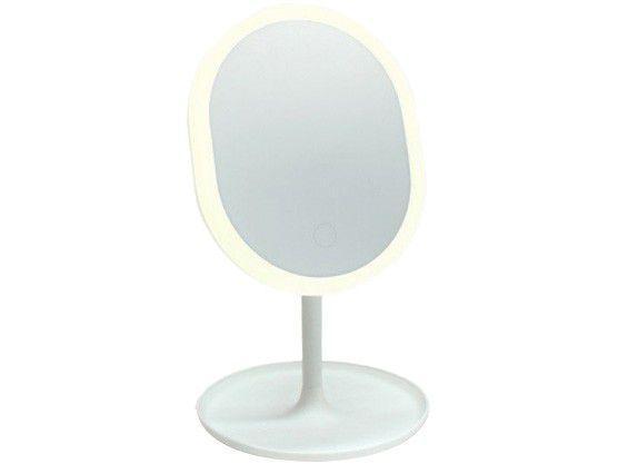 Espelho de Mesa Oval com LED Taschibra Make LED