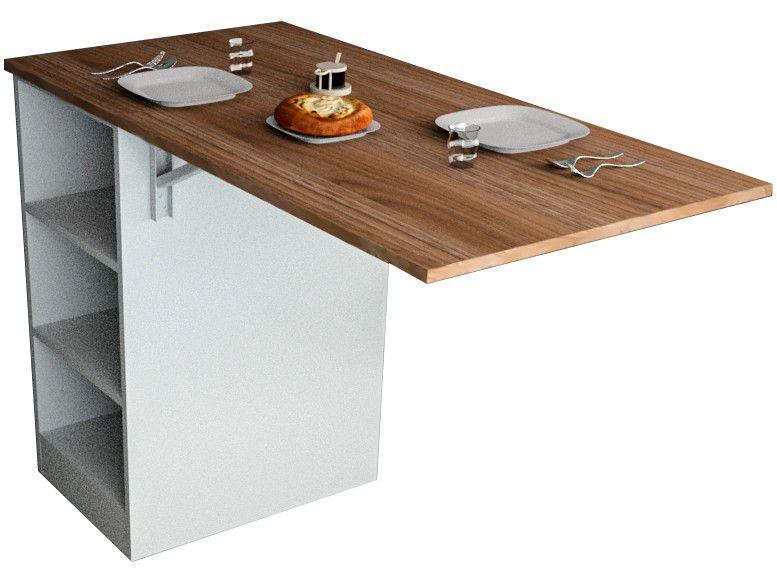 Bancada de Cozinha Gourmet 1 Porta - 4 Prateleiras Appunto Enjoy