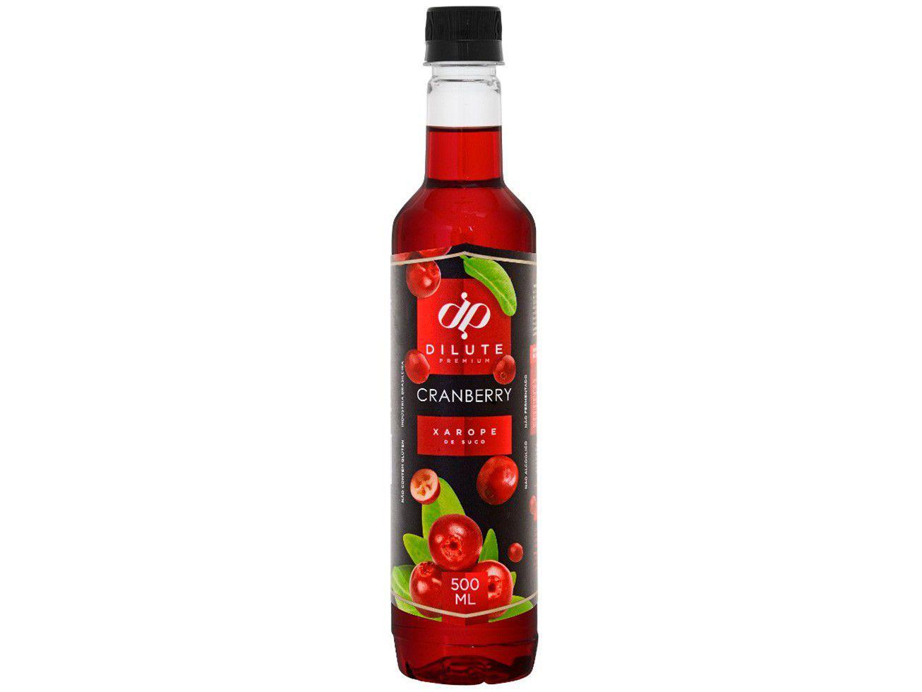 Xarope Dilute Premium Cranberry 500ml