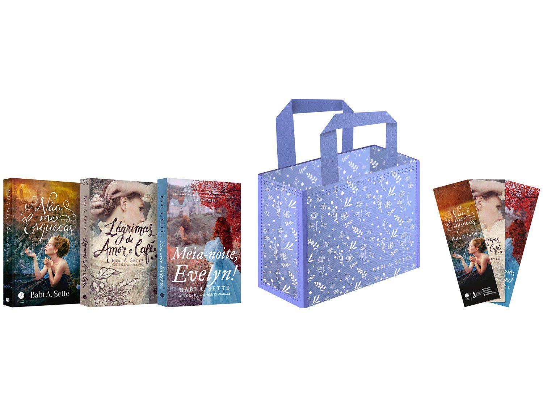 Box Livros Bolsa Babi A. Sette com Brinde