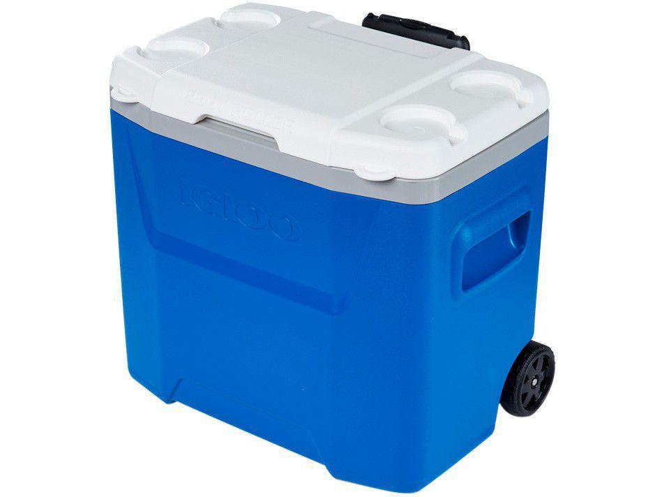Caixa Térmica Igloo 26L com Rodas Laguna Roller - Azul