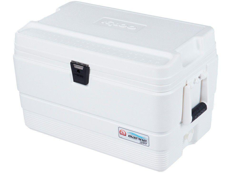 Caixa Térmica Igloo 51L Marine Ultra Branco