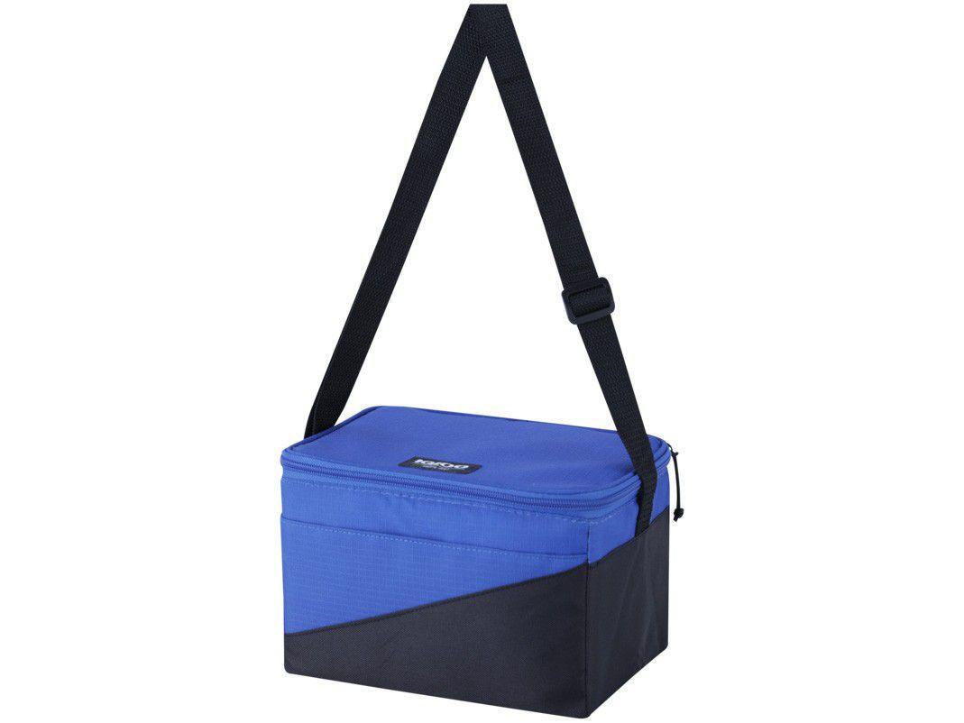 Bolsa Térmica Igloo 5L Tech Soft Azul e Preto