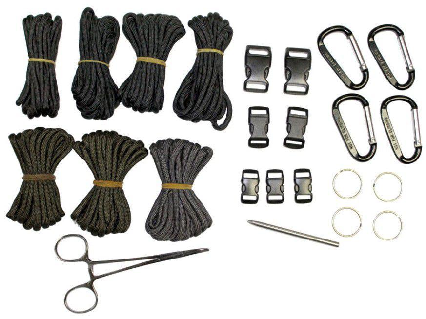 Kit para Pulseira de Sobrevivência NTK Paracord